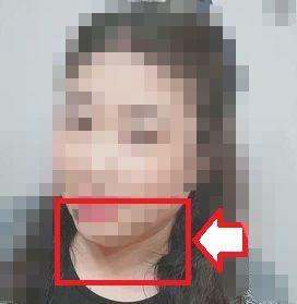 PCMAX詐欺写メ女 二重アゴの女